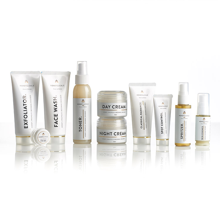 Honeysuckle Facial range