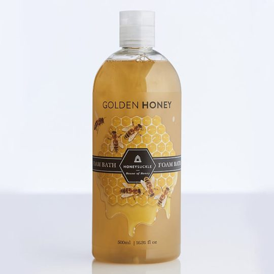 Golden Honey Foam Bath 500ml