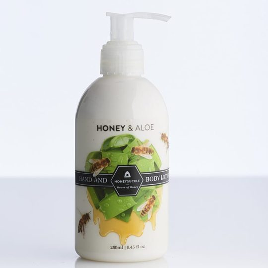 Honey & Aloe Hand & Body Lotion 250ml