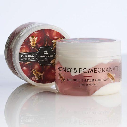 Honey & Pomegranate Double Layer Cream 250ml