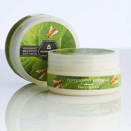 Peppermint Beeswax Foot Cream 125ml