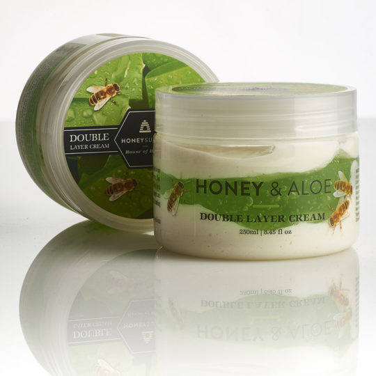 Honeysuckle Honey & Aloe Double Layer Cream