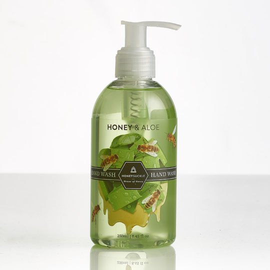 Honeysuckle Honey & Aloe hand wash