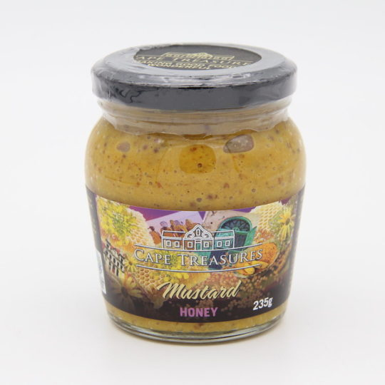 Cape Treasures Mustard honey