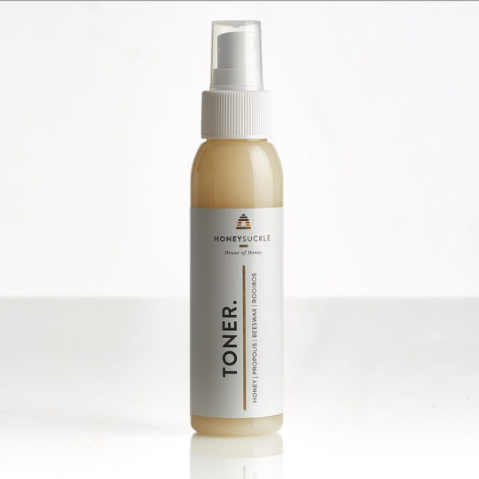 Honeysuckle facial toner