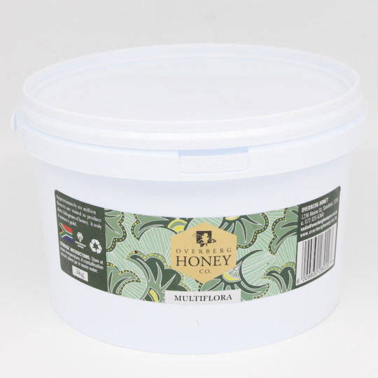 Raw multiflora honey 3kg