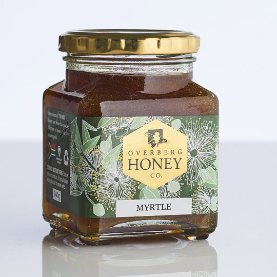 Raw myrtle honey
