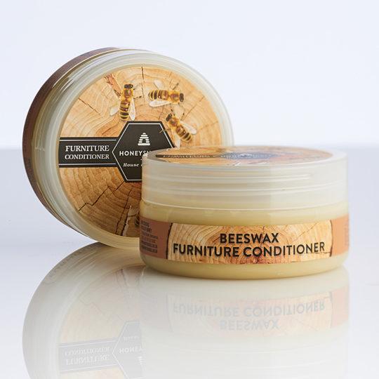 Honeysuckle beeswax furniture conditioner