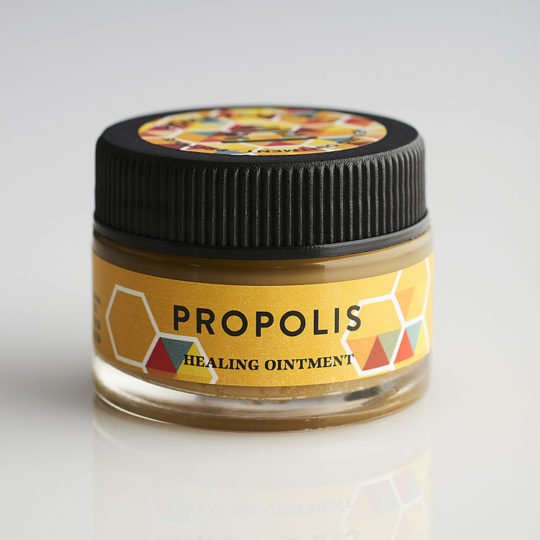 Honeysuckle propolis healing ointment