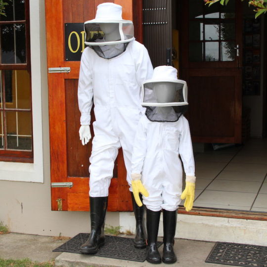 Beekeeping equipment suits adult & child