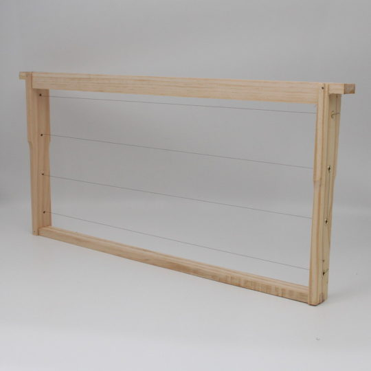 Beekeeping equipment Brood frame wood no wax