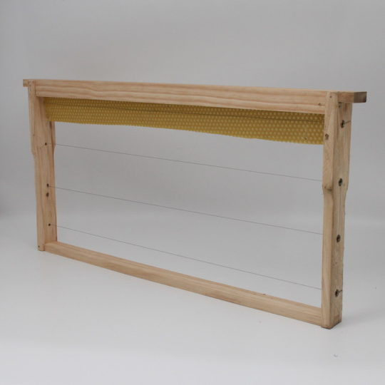 Beekeeping equipment Brood frame wood part wax