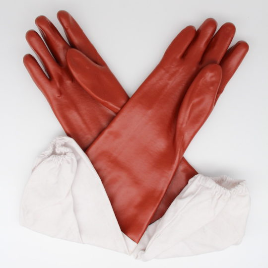 Beekeeping equipment PVC gloves