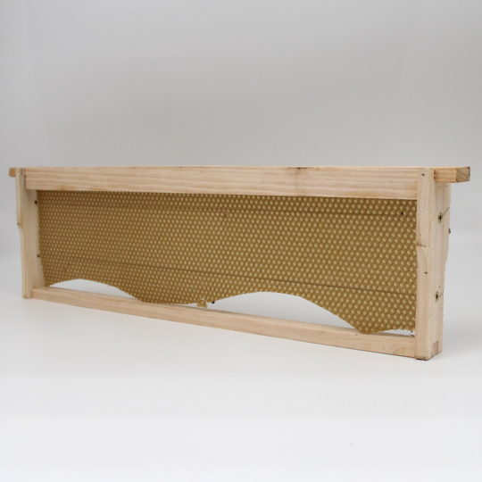 Beekeeping equipment super frame wood full wax