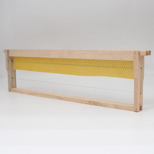 Beekeeping equipment super frame wood part wax