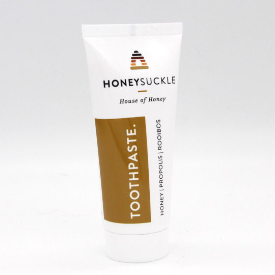 Honeysuckle toothpaste