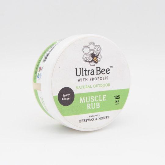 Ultra bee muscle rub